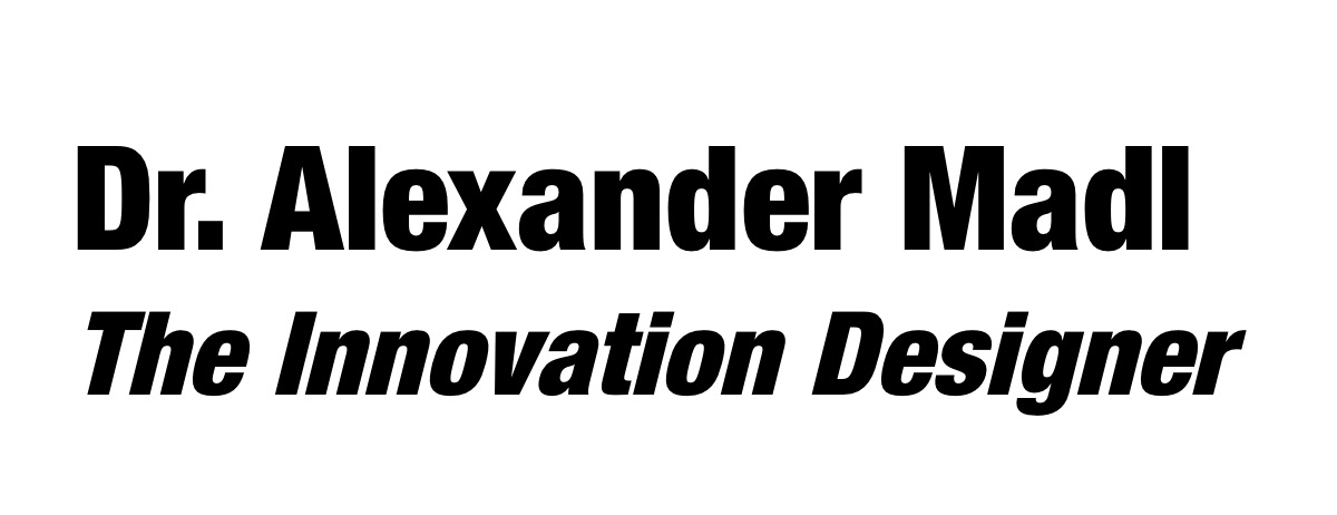 Logo Alexander Madl The Chemistry Innovation Designer