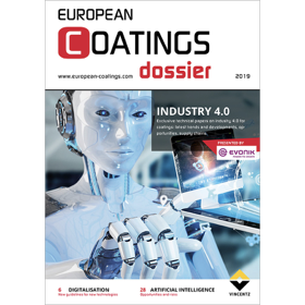 Dr. Alexander Madl in European Coatings Dossier Industry 4.0